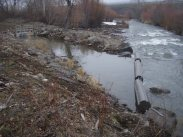 Installed fish screen and channel work on Ahtanum Creek